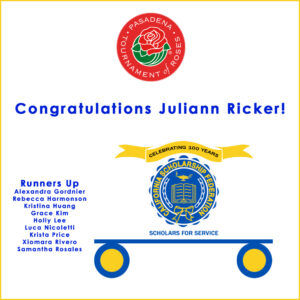 Congratulations CSF Rose Parade Float Contest