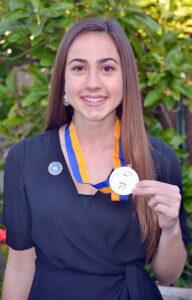Chiara Curnow, 2020 CSF Seymour Award South Region Finalist