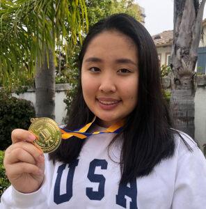 Erica Hsueh, 2020 CSF Seymour Award South Region Finalist