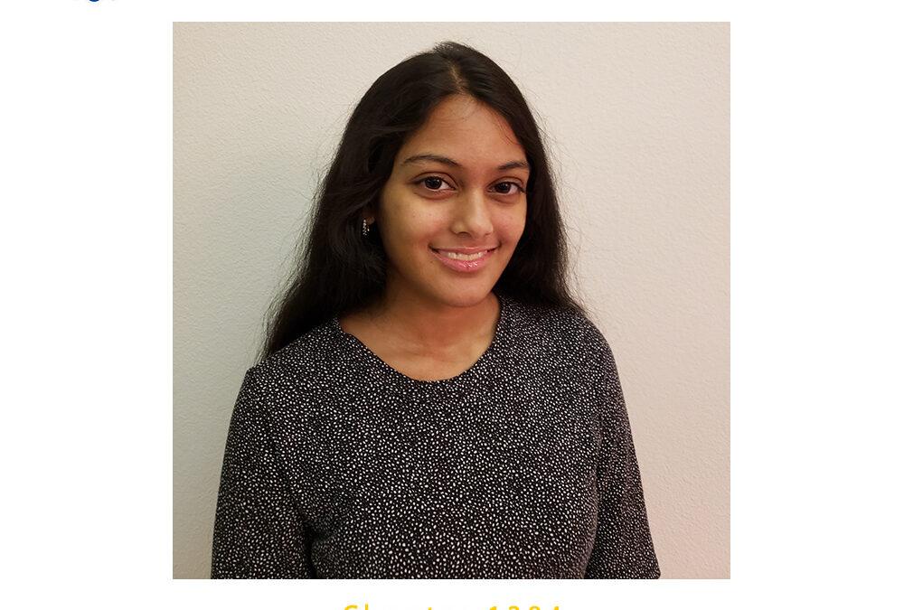 Meera Kashyap, 2020 CSF Seymour Award Central Region Finalist