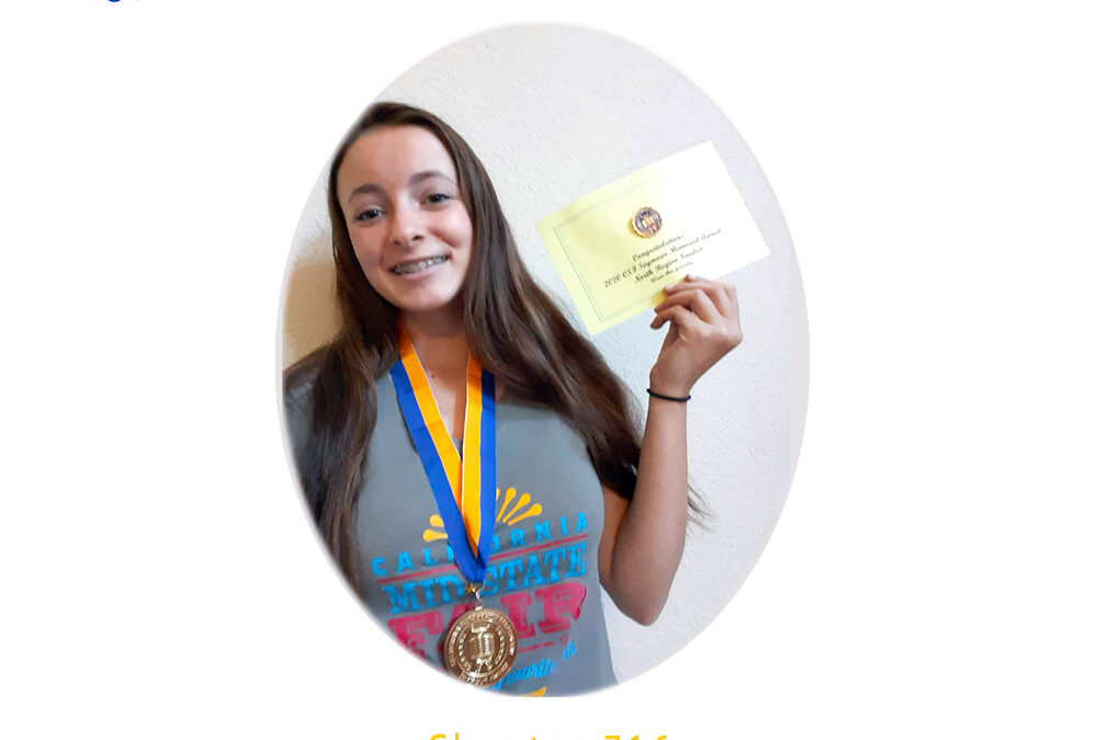 Lea Thomas, 2020 CSF Seymour Award North Region Finalist