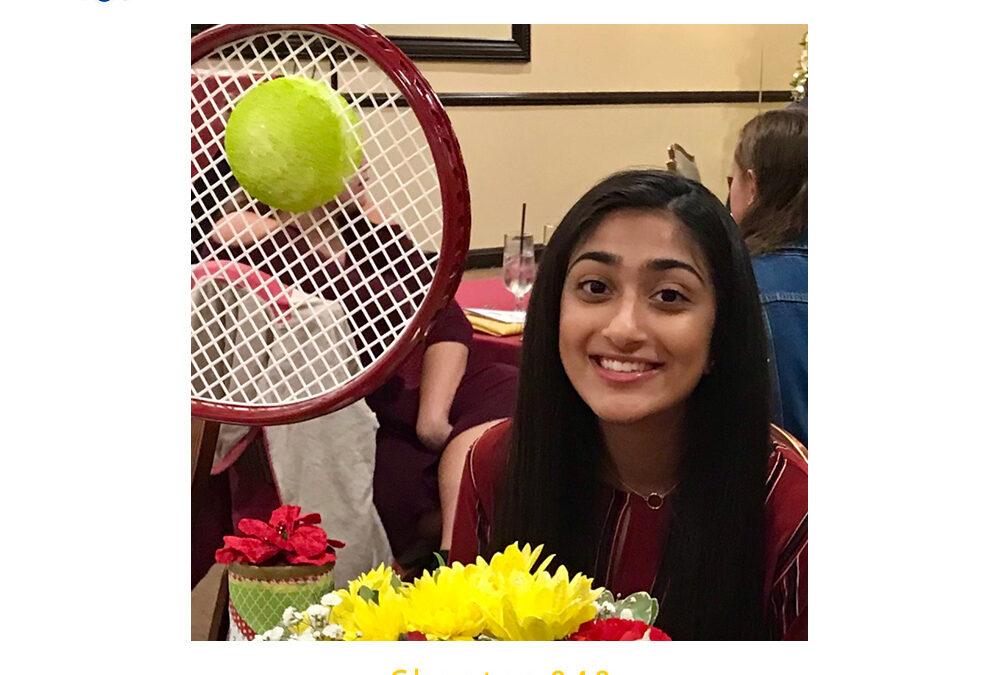 Shreya Krishna, 2020 CSF Seymour Award South Region Finalist