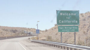 Welcome to California photo: Megan J Wynne copyright 2020
