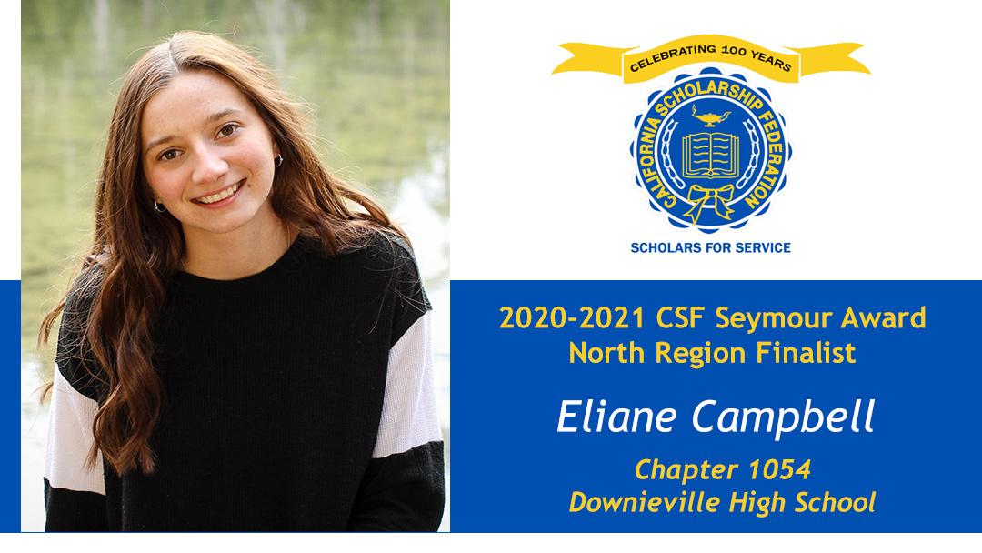 Eliane Campbell Seymour Award 2020-2021 North Region Finalist