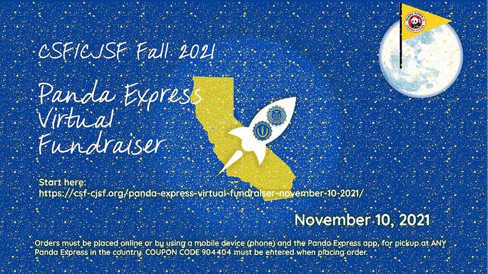 Panda Express Virtual Fundraiser   November 10, 2021