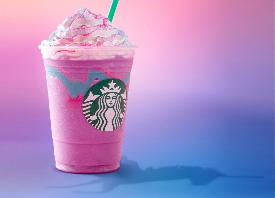 Our Favorite Reactions to Starbucks Unicorn Frapp