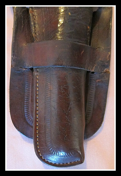 Front holster and skirt repair for Montgomery Ward marked Rig