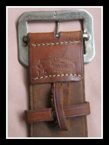 Belt Marking on Vintage Lawrence Rig