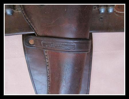 Shelton Payne Maker marked Western Rig for Colt SAA