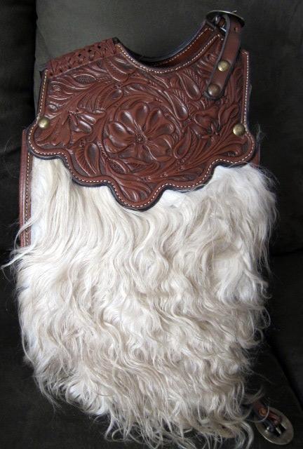 Angora Pommel Bags