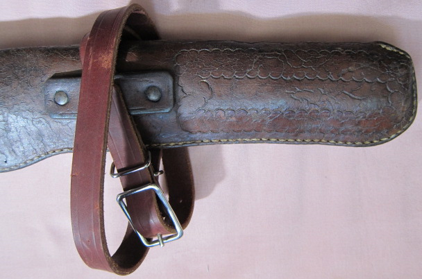 Browning Bros Carbine Scabbard - Bottom Tooling