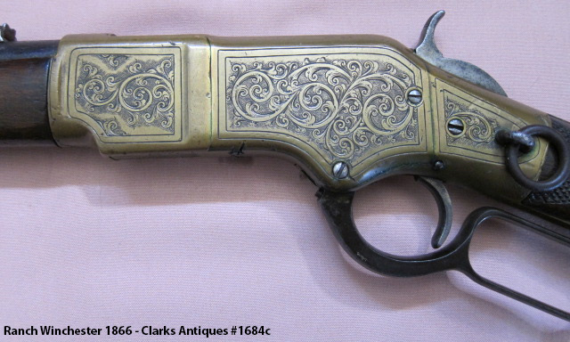 101 Ranch Winchester 1866 - Left Side