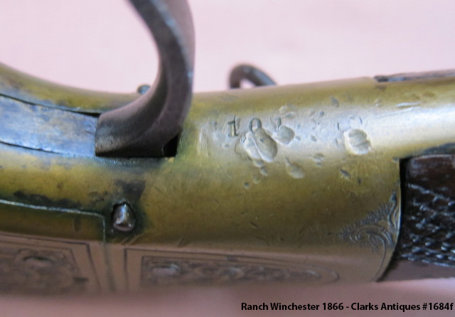101 Ranch Winchester 1866 - 101 Marking