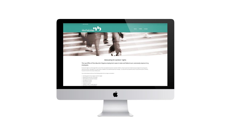 custom legal lawyer website design