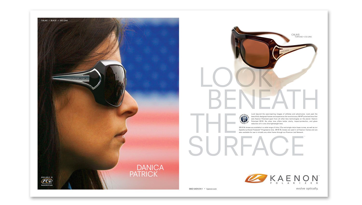 action sports advertising design