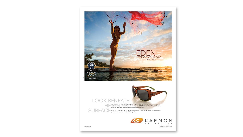 surfer magazine ad design
