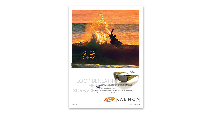 advertising design surfer mag
