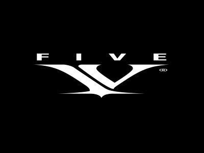 oakley five v logo design