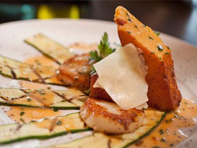 food photography scallops