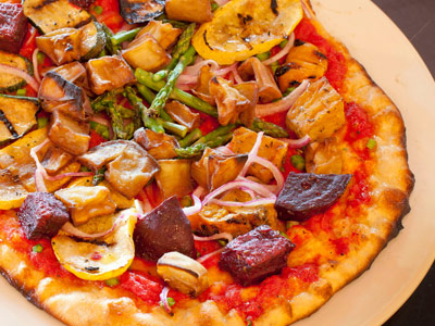 food photography pizza