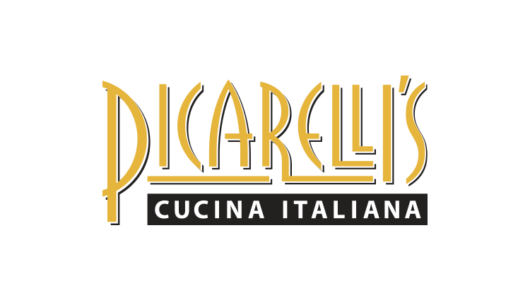 picarellis restaurant logo design