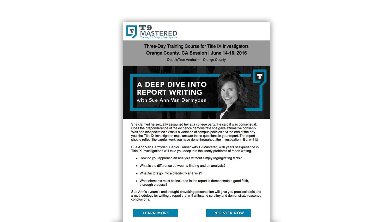 email blast marketing design