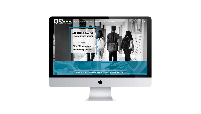training program custom website design