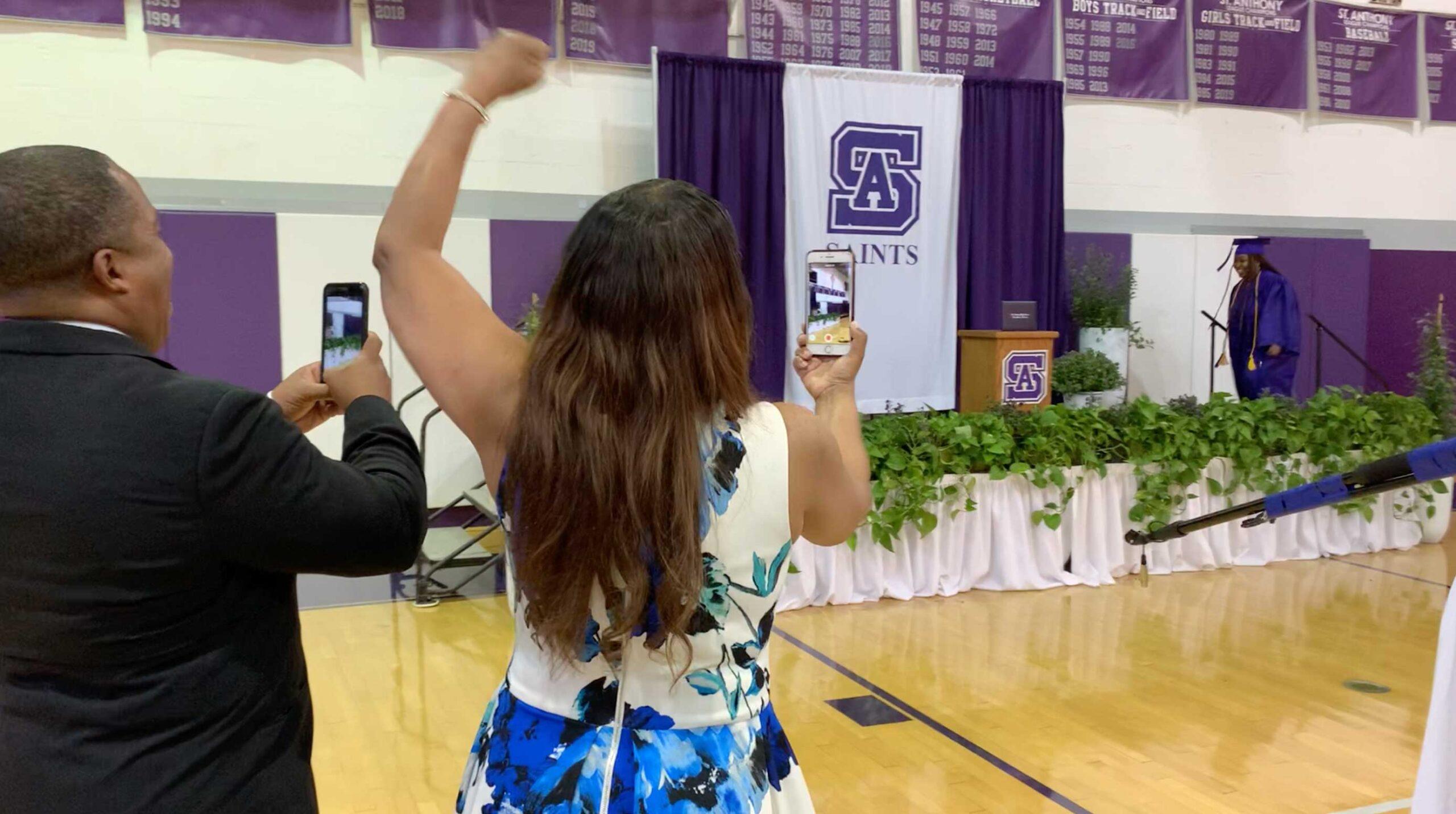 covid live graduation - not virtual