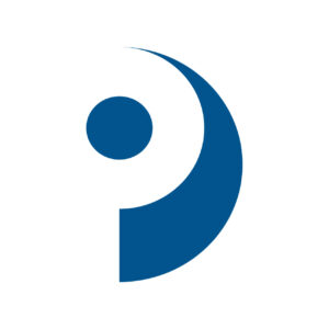 PII professional legal logo design with negative space