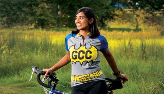 Cycling for a Cure