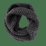 gray infinity scarf