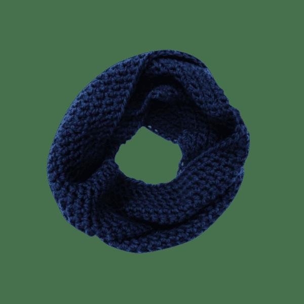 navy infinity scarf salem style