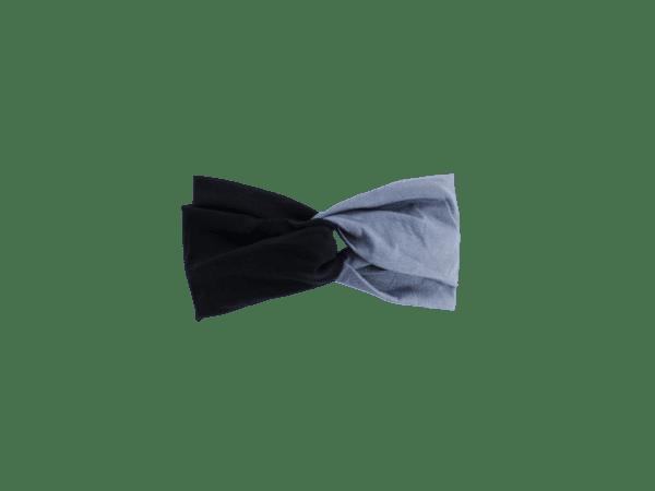 Black and Gray Headband