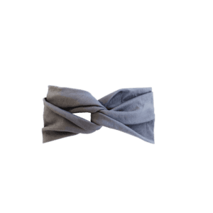 Gray Jersey Twist Headband Salem Style
