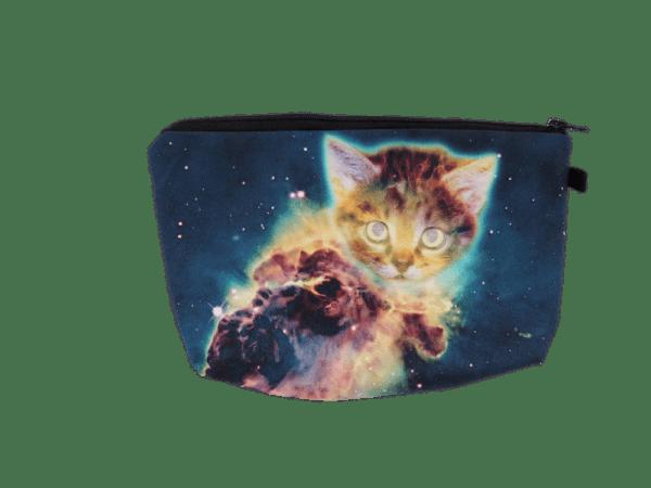 Galaxy Cat Pouch