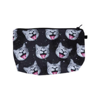 Laughing Cat Pouch
