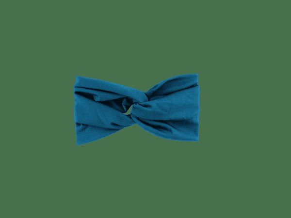 Teal Jersey Twist Headband Salem Style