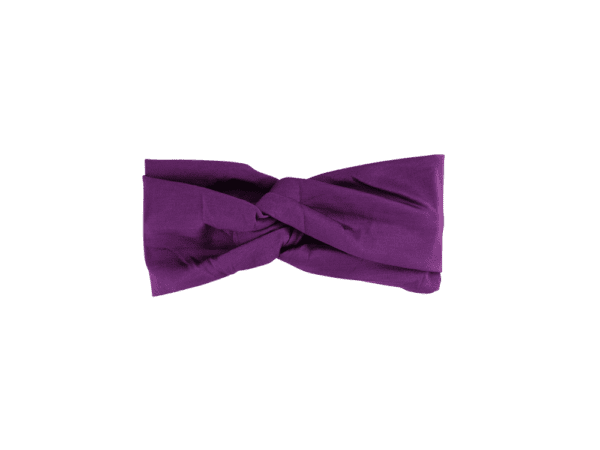 Violet Jersey Twist Headband Salem Style