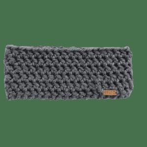 Anderson Ear Warmer in Gray Crochet Salem Style