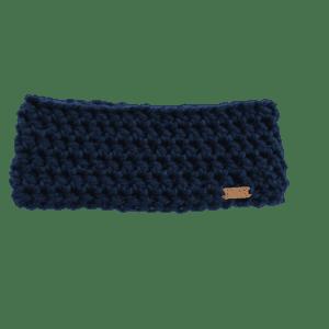 Anderson Ear Warmer in Navy Crochet Salem Style