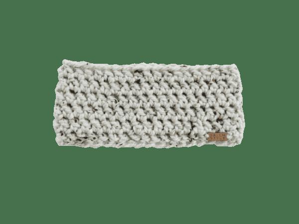 Anderson Ear Warmer in Oatmeal Crochet Salem Style