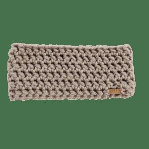 Anderson Ear Warmer in Beige Crochet Salem Style
