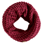red wine cowl scarf