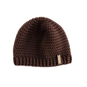 Brown Beanie Hat