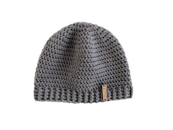 Light Gray Beanie Hat