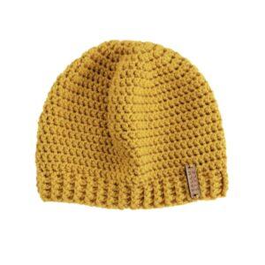 Mustard Yellow Beanie Hat