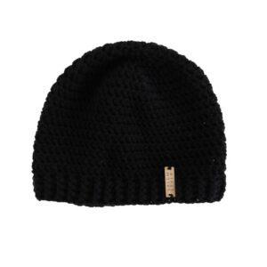 dunnie beanie hat in black