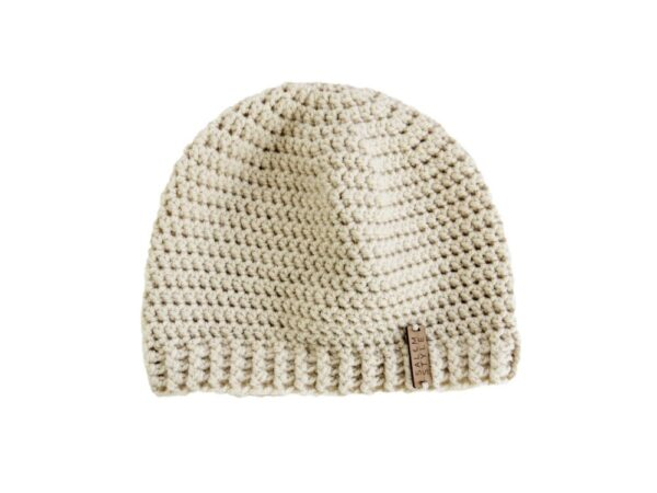 Dunnie Beanie Hat in Almond