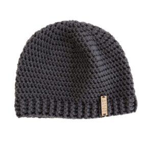 Dark Gray Beanie Hat