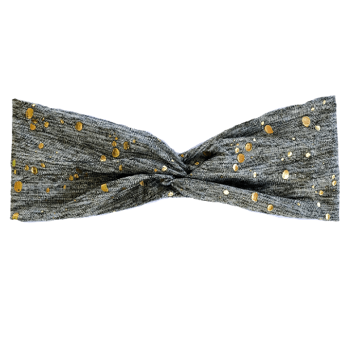 Gray Galaxy Headband Salem Style